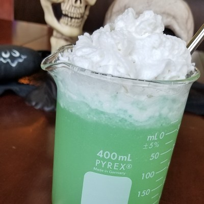 Vegan Halloween Beverage: Photon Potion