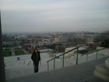 Myself, looking over Montreal