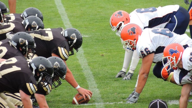 football-line-of-scrimmage