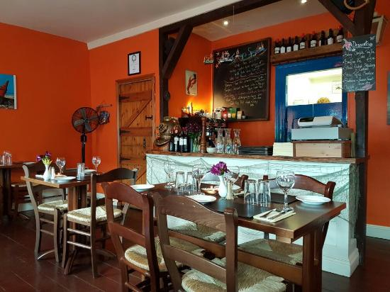 Interior of The Fish Kitchen in Bantry
