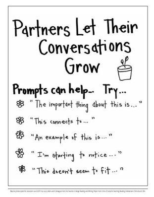 partners let conversations grow