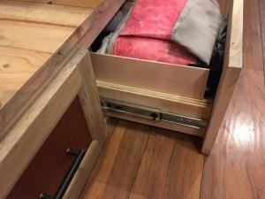 Extenders on sock drawer