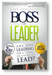 Boss or Leader by Dave Ferguson