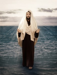Jesus Walks On Water