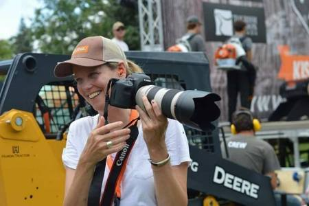Timbersports' talented photographer.