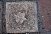 Star of David tile.
