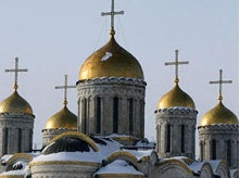 Assumption Cathedral in Vladimir, Russia.