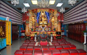 Fu Sien Tong Upper Shrine Room.