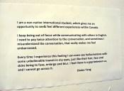 Shubo Yang artist statement.