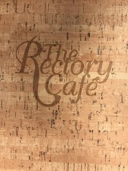 Rectory Cafe menu.