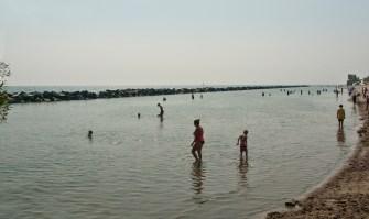 Centre island west beach.