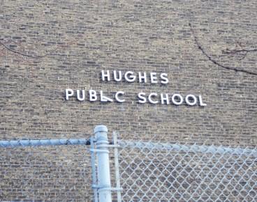 Hughes P.S. sign.