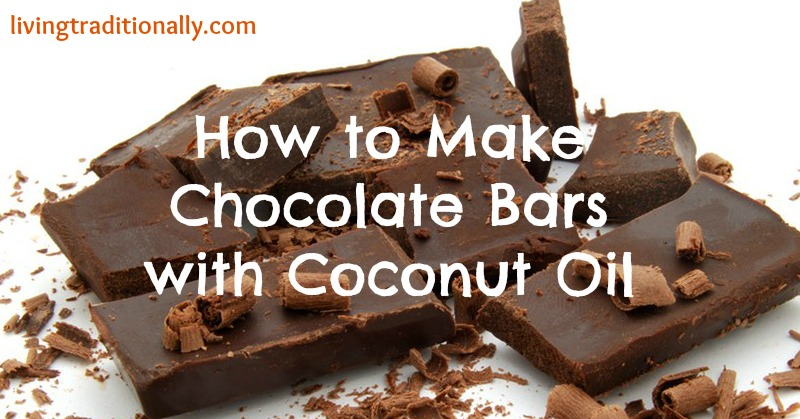 How to Make Chocolate Bars with Coconut Oil
