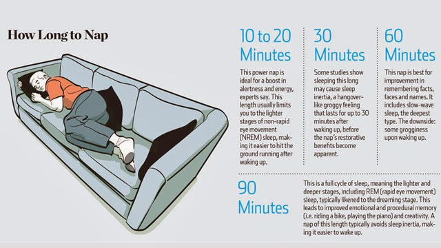 How Long To Nap For The Most Brain Benefits