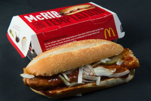 The 70 Ingredient Cancer Promoting McRib Sandwich: It's Not Real Food