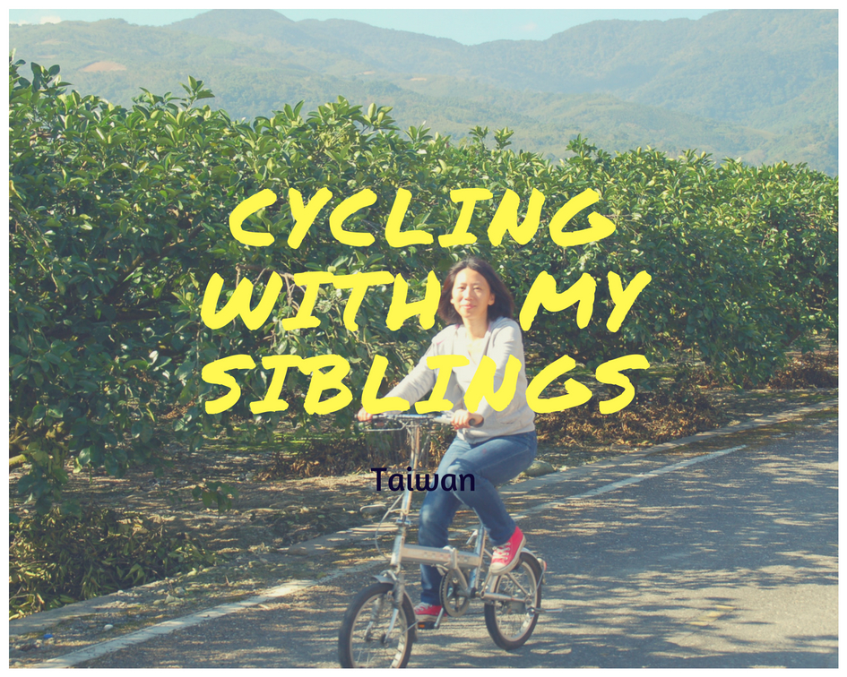 Cycling with siblings