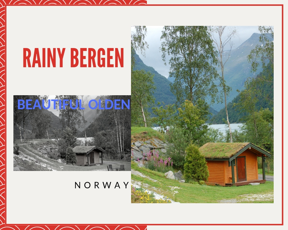 Rainy Bergen and Beautiful Olden, Norway