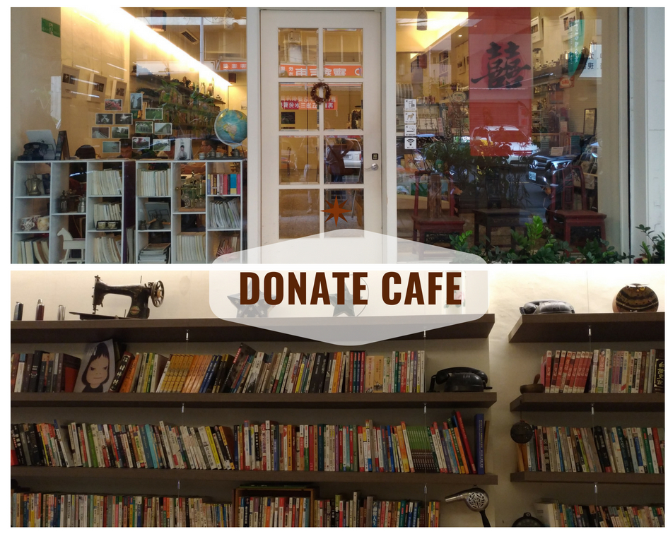 Donate Cafe, Taichung Taiwan