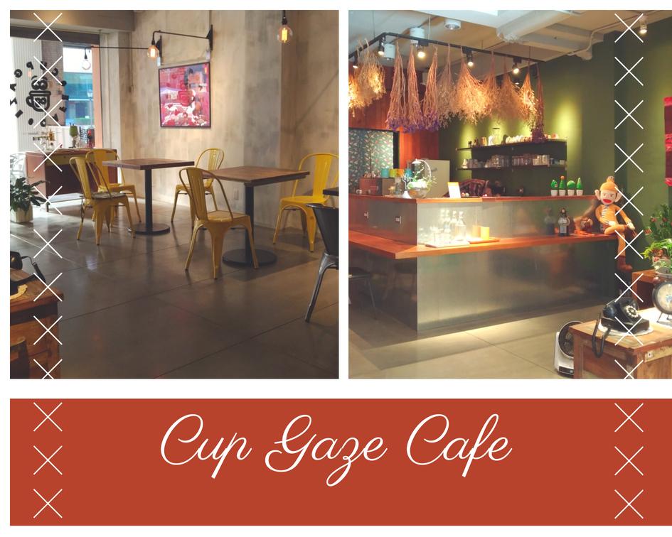 Cup Gaze Cafe, Taichung Taiwan