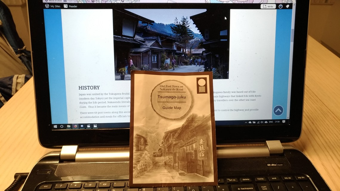 Historical memories at Tsumago