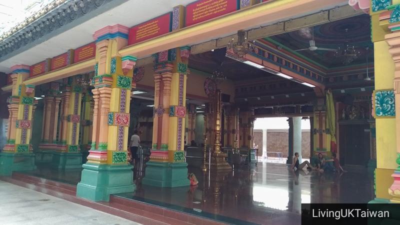 The Sri Mahamariamman Temple in KL Malaysia