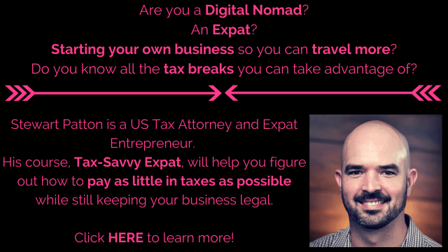 Tax-Savvy Expat Course
