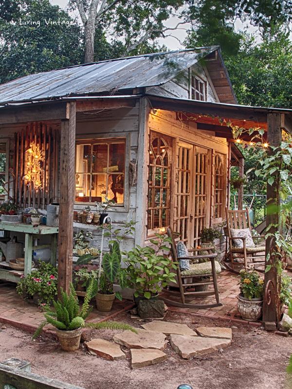 Diy Garden Potting Shed