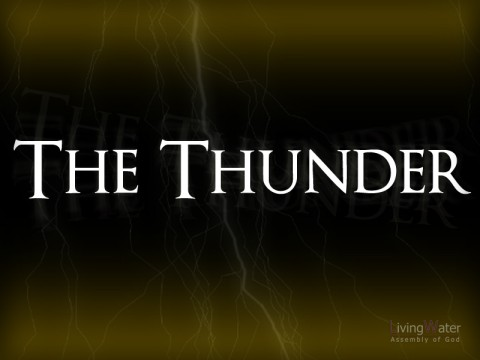 The Thunder - He's more than a buddy...He is God