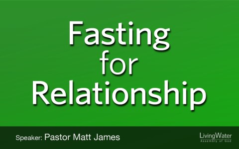 Fasting for Relationship