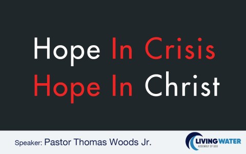 Hope in Crisis, Hope in Christ