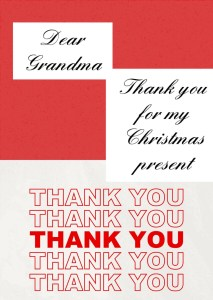 A HANDWRITTEN THANK YOU IS A SPECIAL TREAT