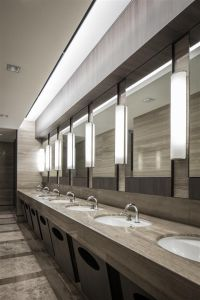 Clean public restrooms attract customers