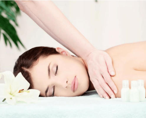 Aromatherapy Massage - stress management