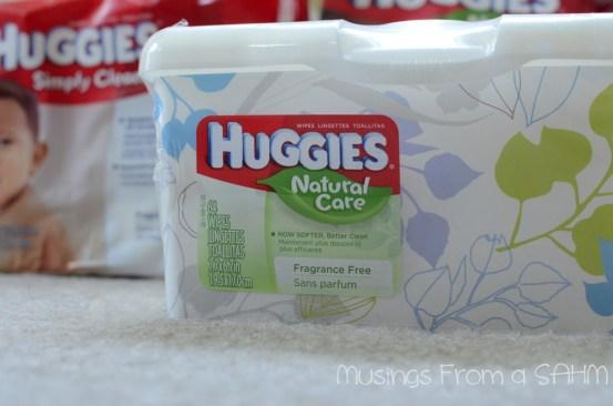 Huggies Natural Care wipes, Huggies Natural