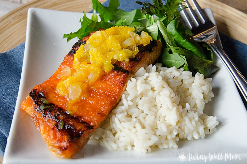 This recipe for Baked Salmon with Orange Glaze is mouth-wateringly delicious!