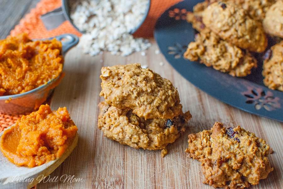 With a light pumpkin flavor, Pumpkin Oatmeal Cookies are the perfect autumn twist to a favorite classic.