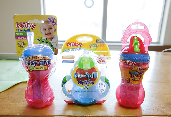nuby sippys