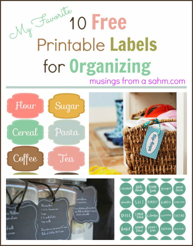 60 Free Printable Labels For Organizing Living Well Mom