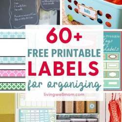 free printables labels for organizing