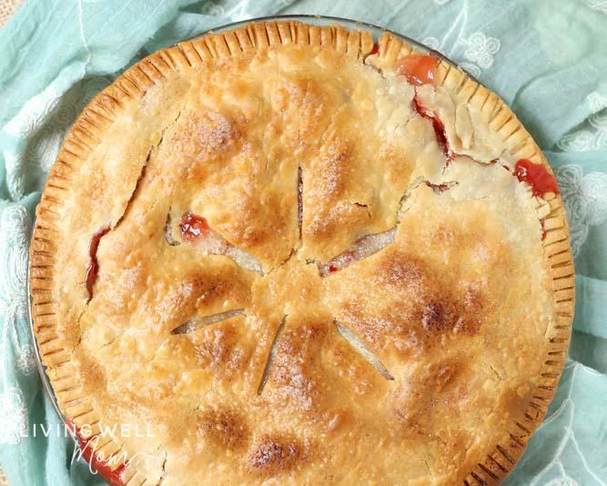 best strawberry rhubarb pie