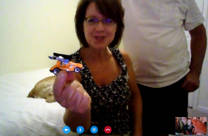 Skype Cars with Grandma