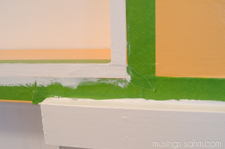 frog tape painting