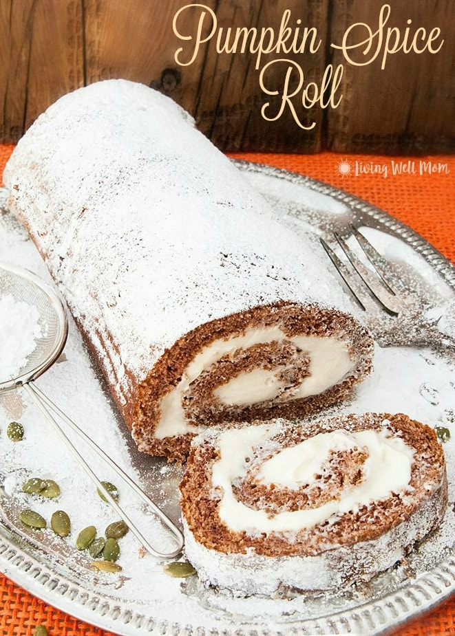 A sponge cake texture and a light cream cheese filling, along with a delightful pumpkin spice flavor, makes this Pumpkin Spice Roll a real treat. Plus you won't believe just how easy this recipe is to make!