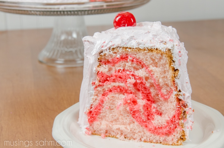 Cherry Chiffon-Cake