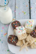 RiceKrispiesPopsicle Treats
