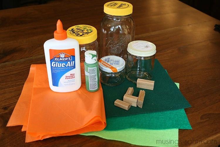 DIY pumpkin supplies