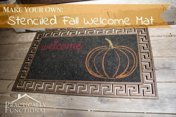 DIY-Fall-Stenciled-Welcome-Mat-10-600x400