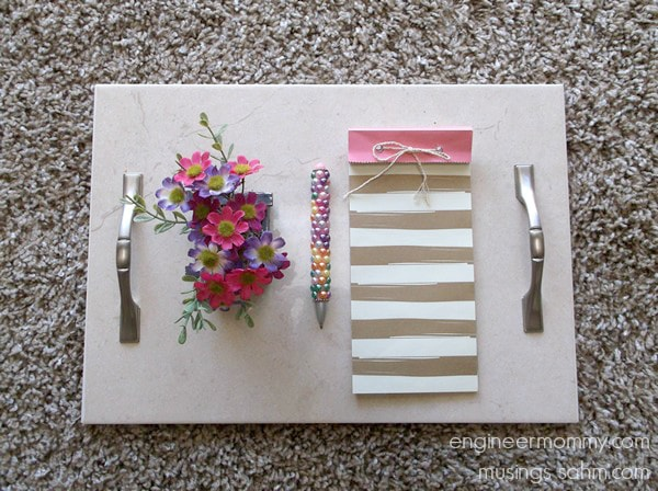 This DIY Ceramic Tray is easy to make, costs less than $10, and is a great homemade gift