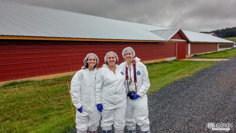 Tour of family farm for Shady Brook Farms
