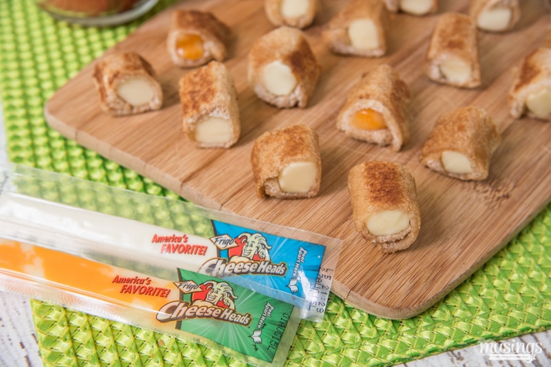 "Grilled Cheese ""Sushi"" Rolls are a delightful cheesy twist on the classic sandwich that both kids and adults love. They're fairly simple to make and are great for lunch or snack or even a fun dinner - the kids won't mind!"